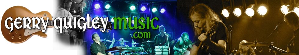 Gerry Quigley Music Ireland : Celtic Blues : Progressive Rock : The Mystic Blues Band
